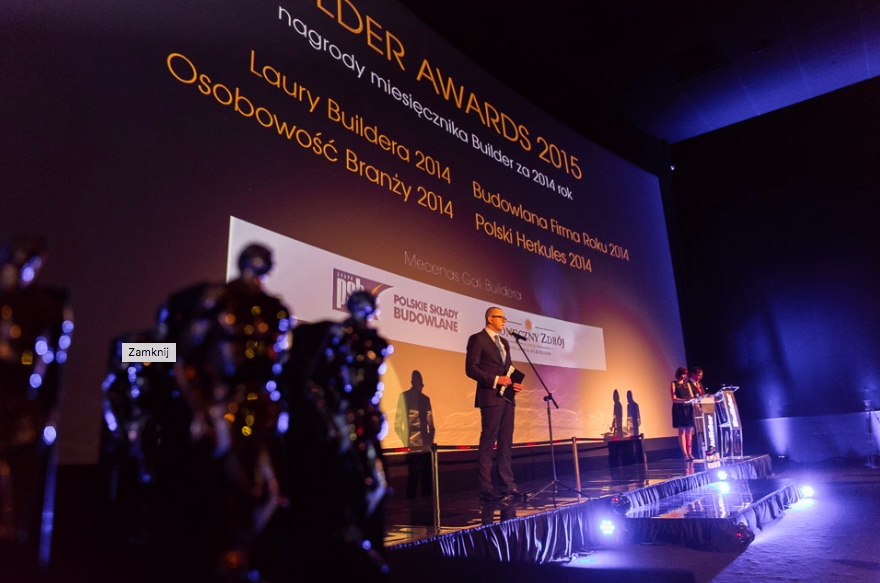 GALA BUILDER AWARDS – NAGRODY ZA 2014 ROK