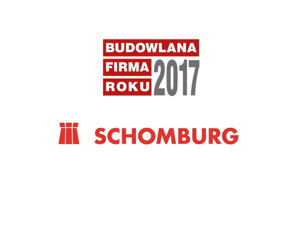 SCHOMBURG-POLSKA – BUDOWLANA FIRMA ROKU 2017