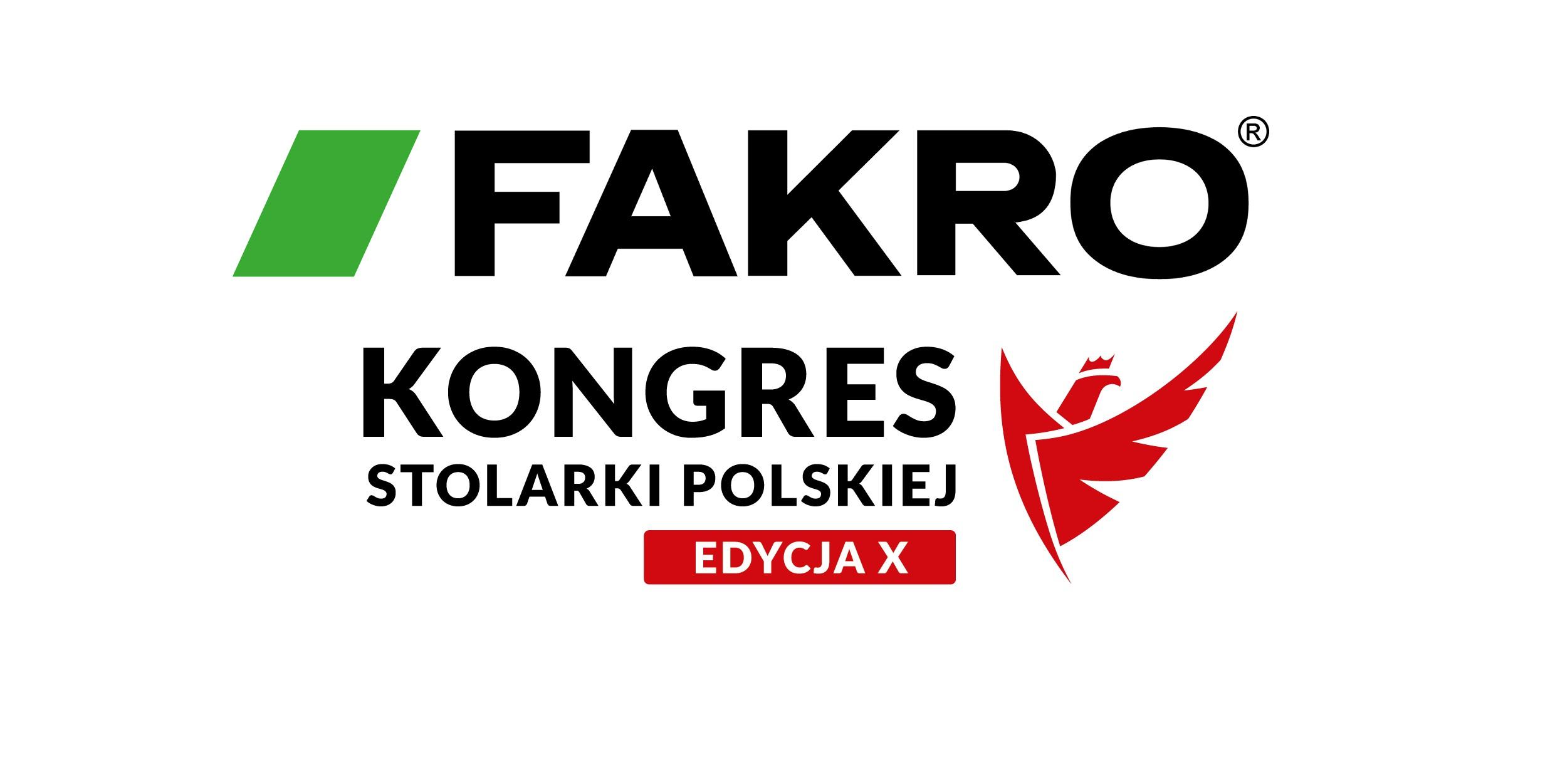 FAKRO PARTNEREM GŁÓWNYM X KONGRESU STOLARKI POLSKIEJ
