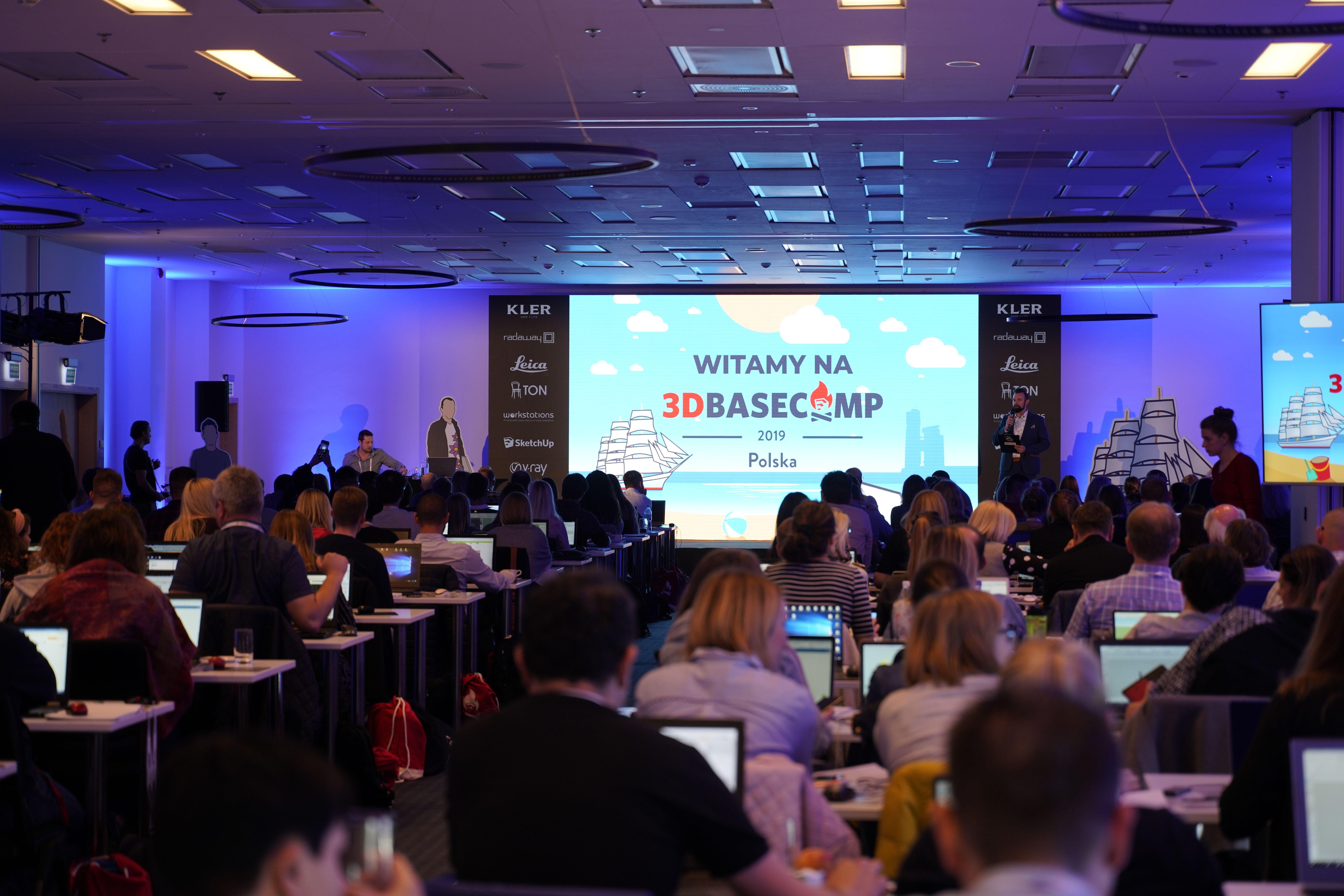 3D Basecamp 2019 Gdynia – największe spotkanie użytkowników SketchUp