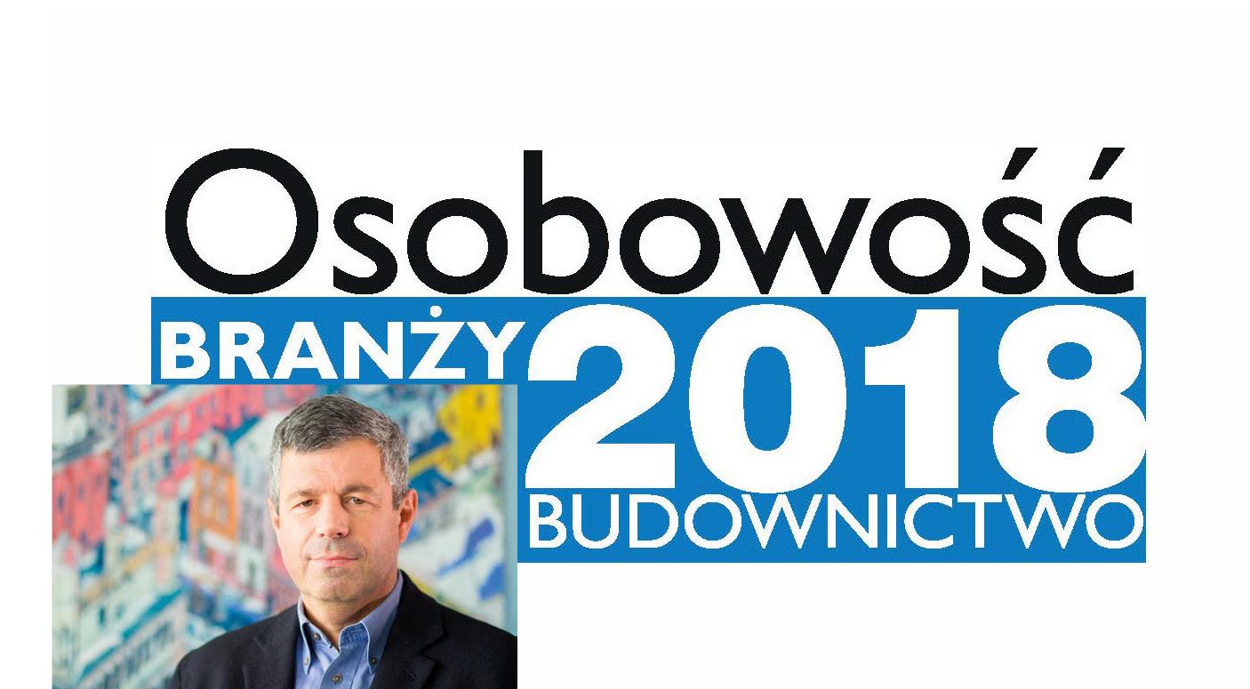 OSOBOWOŚĆ BRANŻY 2018- KRZYSZTOF HORAŁA, PREZES ZARZĄDU HÖRMANN POLSKA SP. Z O.O.