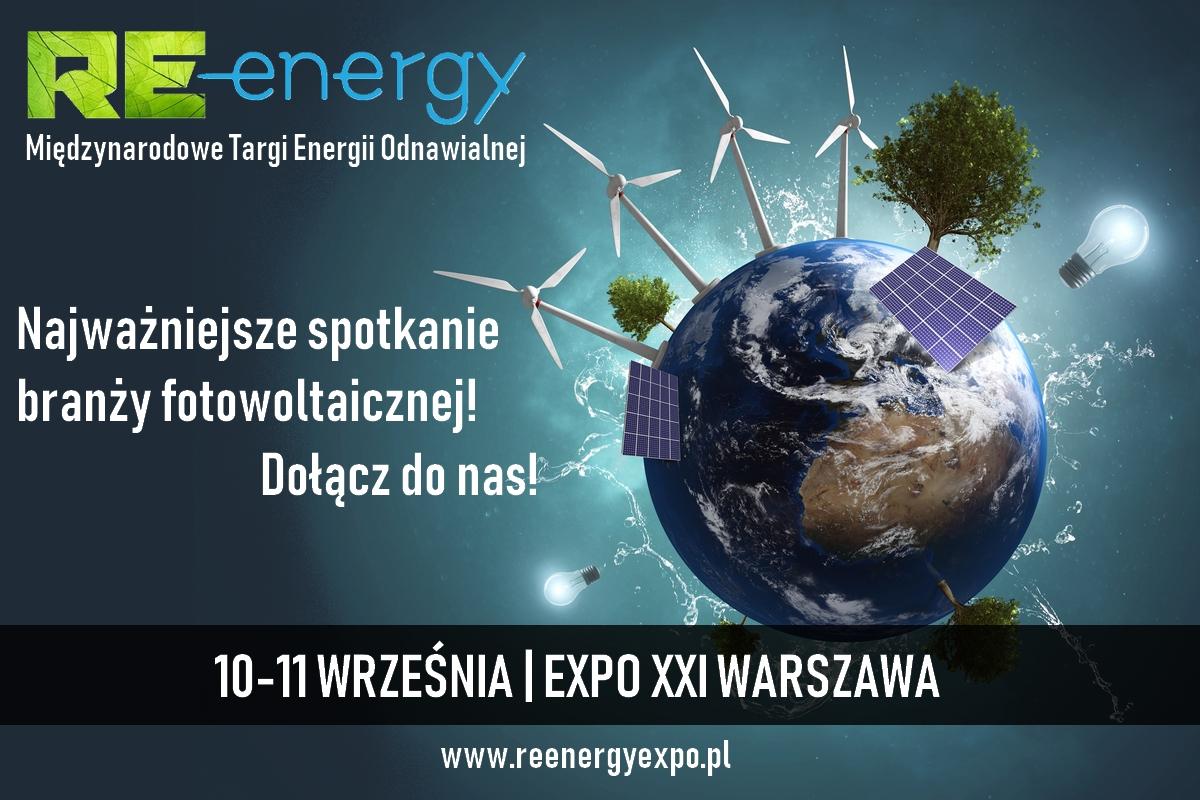MIĘDZYNARODOWE TARGI ENERGII ODNAWIALNEJ RE-ENERGY