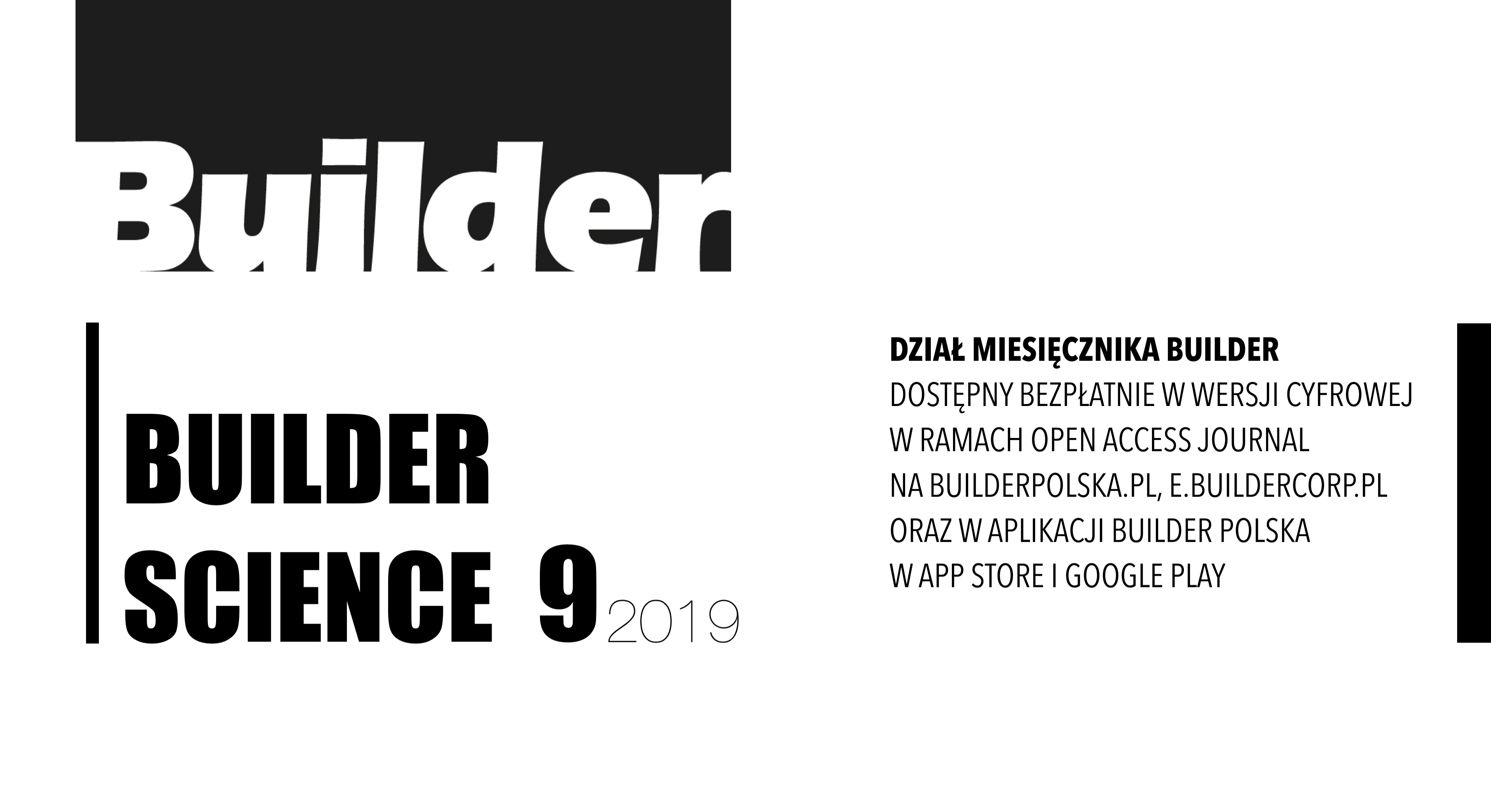BUILDER SCIENCE 09.2019