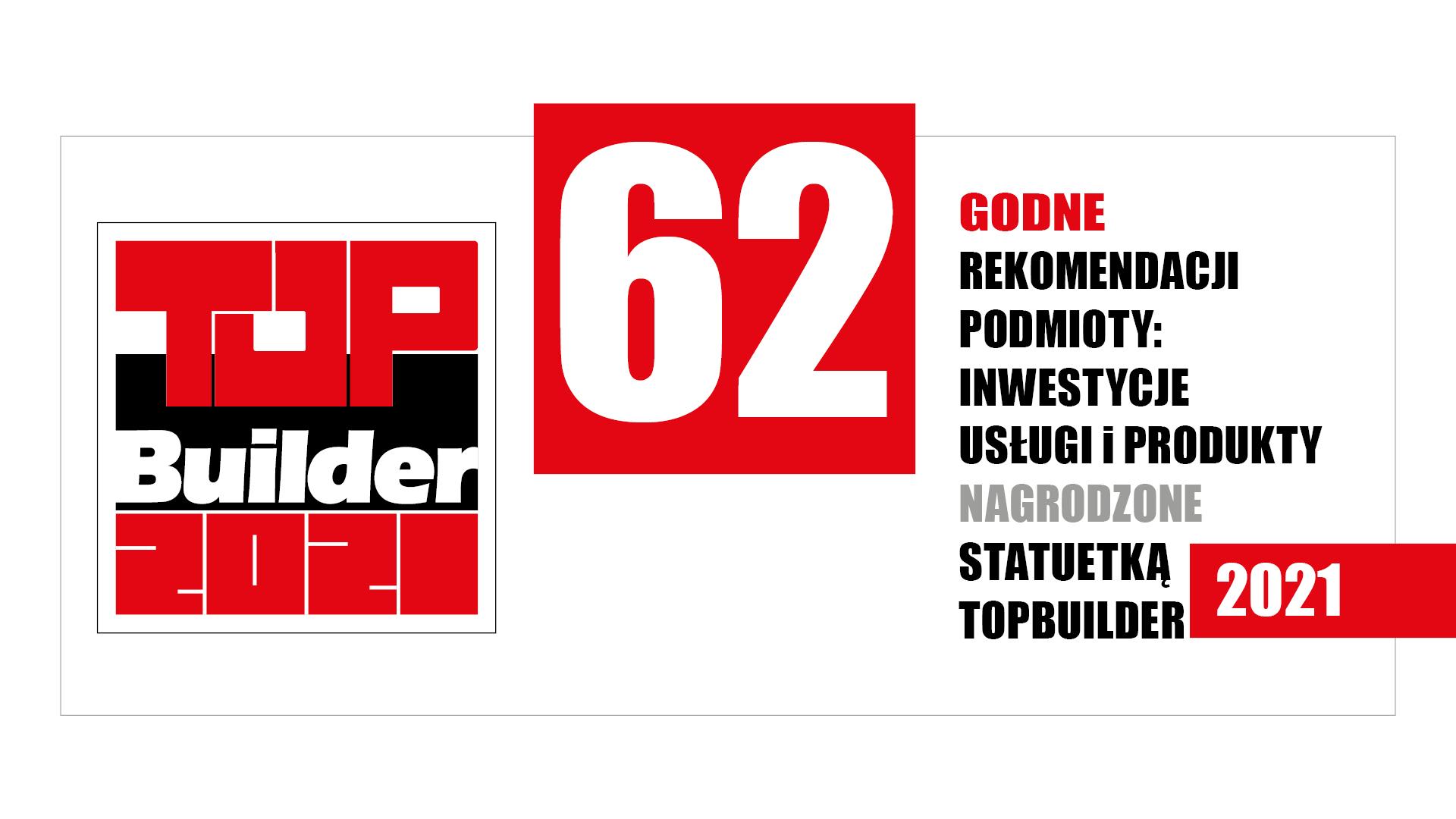 TOPBUILDER 2021 – zwycięzcy XIII edycji