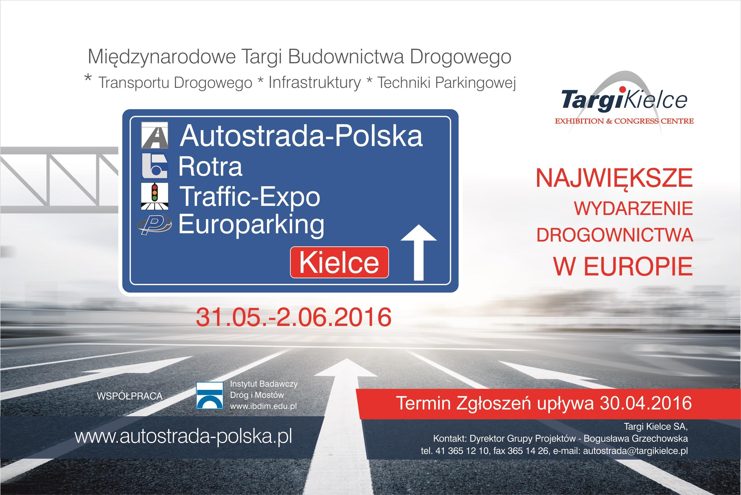XXII MIĘDZYNARODOWE TARGI BUDOWNICTWA DROGOWEGO AUTOSTRADA-POLSKA