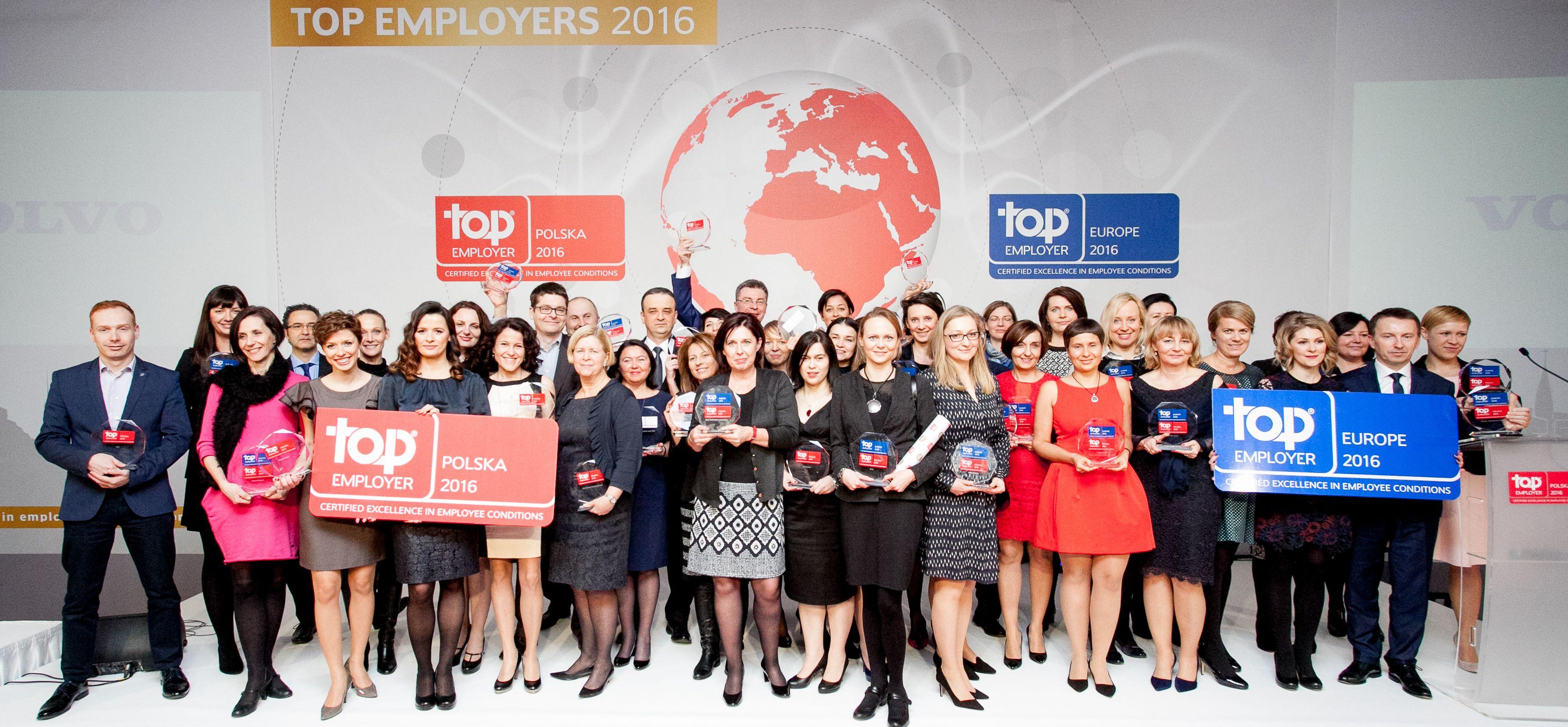 TOP EMPLOYERS POLSKA 2016