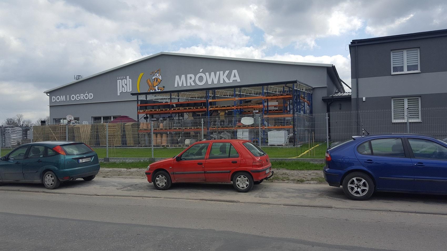 GRUPA PSB MA JUŻ 220 SKLEPÓW MRÓWKA W POLSCE