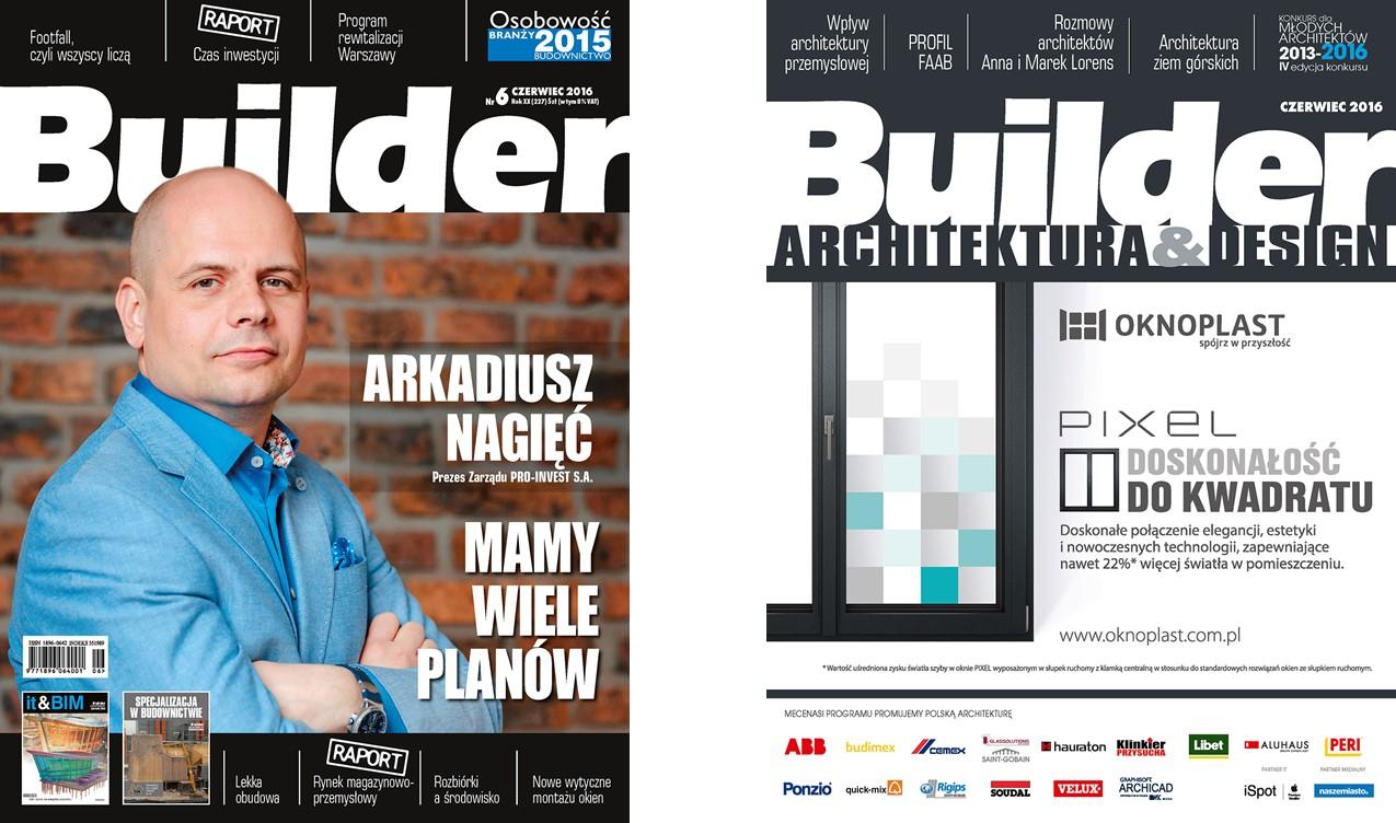 BUILDER – CZERWIEC 2016