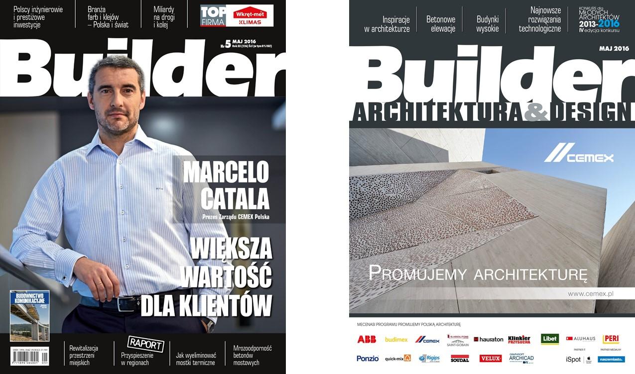 BUILDER – MAJ 2016