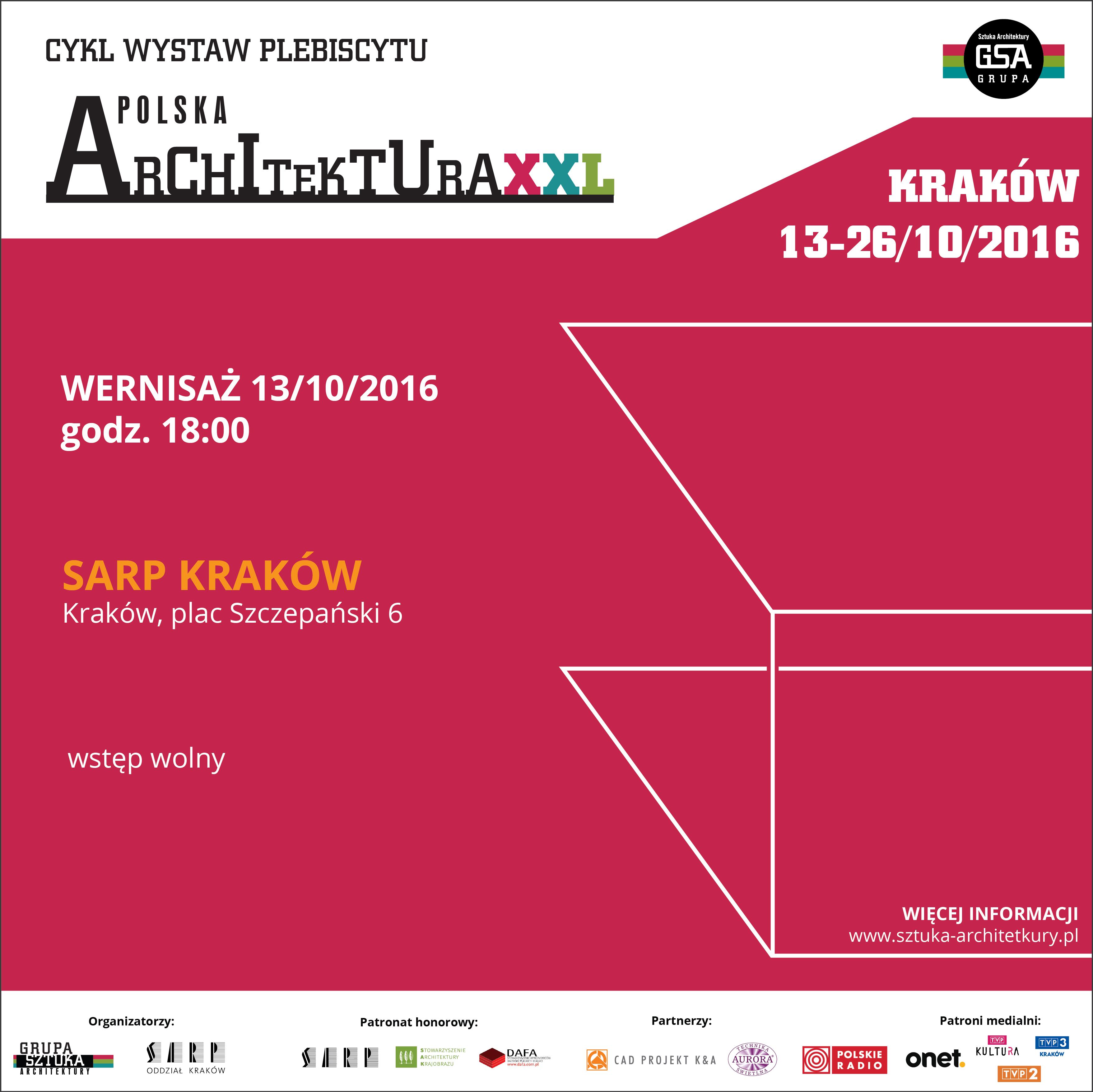 WYSTAWA POLSKA ARCHITEKTURA 2015 ODWIEDZI KRAKÓW
