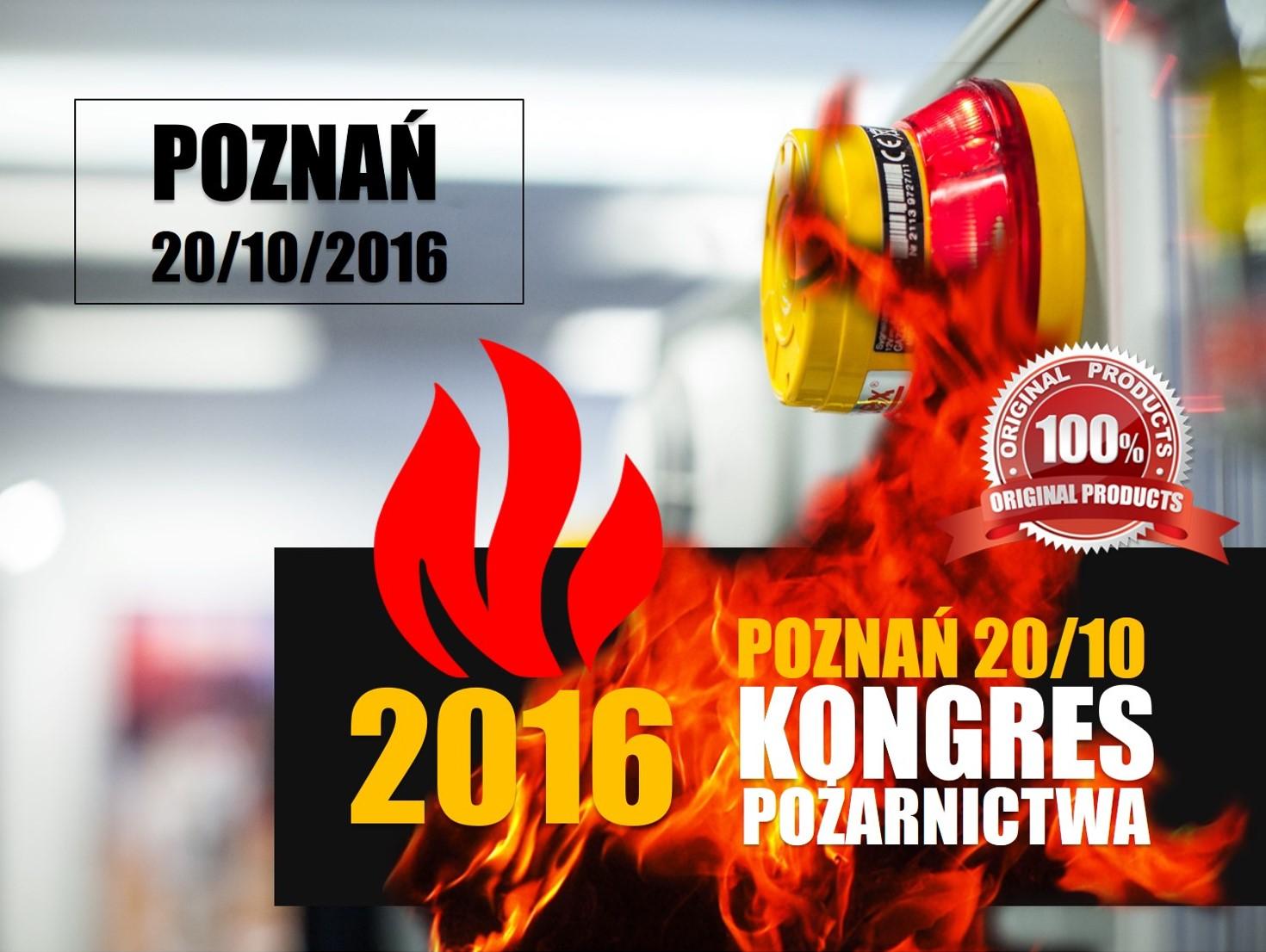 KONGRES POŻARNICTWA FIRE-POZNAŃ 2016