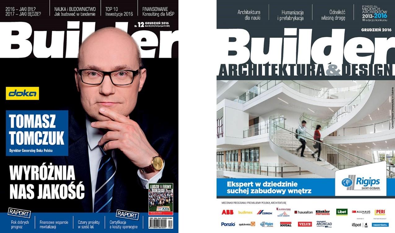 BUILDER – GRUDZIEŃ 2016