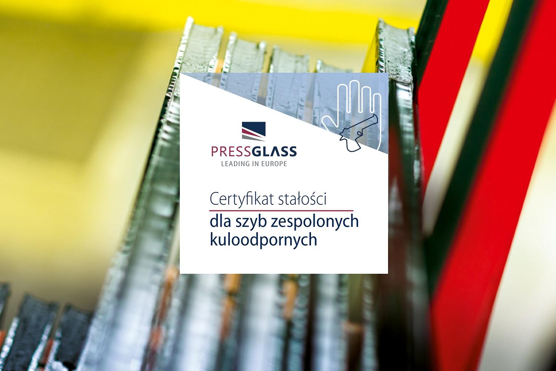 KULOODPORNE SZYBY ZESPOLONE  PRESS GLASS Z CERTYFIKATEM