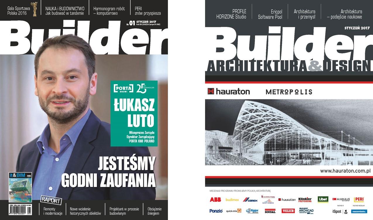 BUILDER – STYCZEŃ 2017