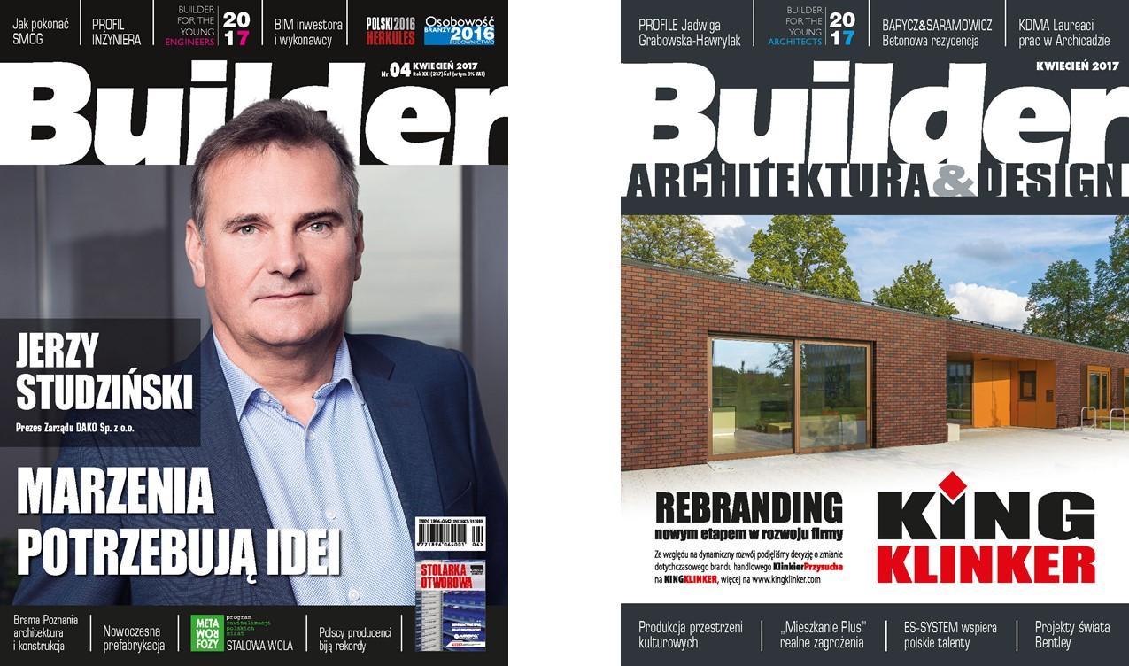 BUILDER – KWIECIEŃ 2017