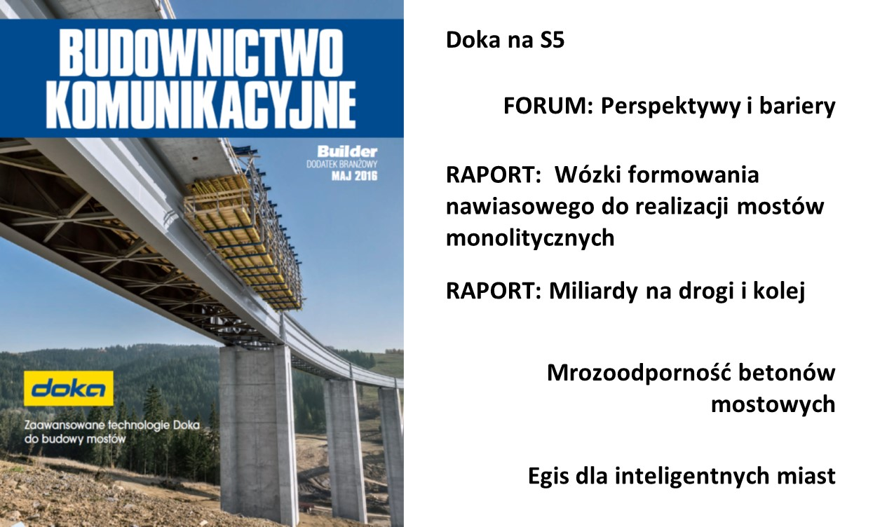 BUILDER – DODATEK BRANŻOWY – MAJ 2016