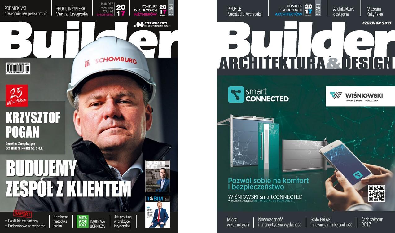 BUILDER – CZERWIEC 2017