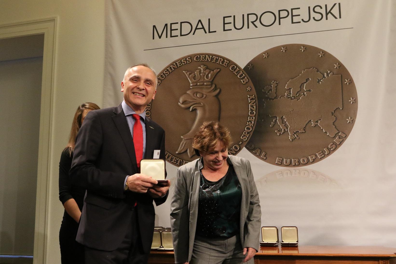 MEDAL EUROPEJSKI 2017  DLA FIRMY BLACHY PRUSZYŃSKI
