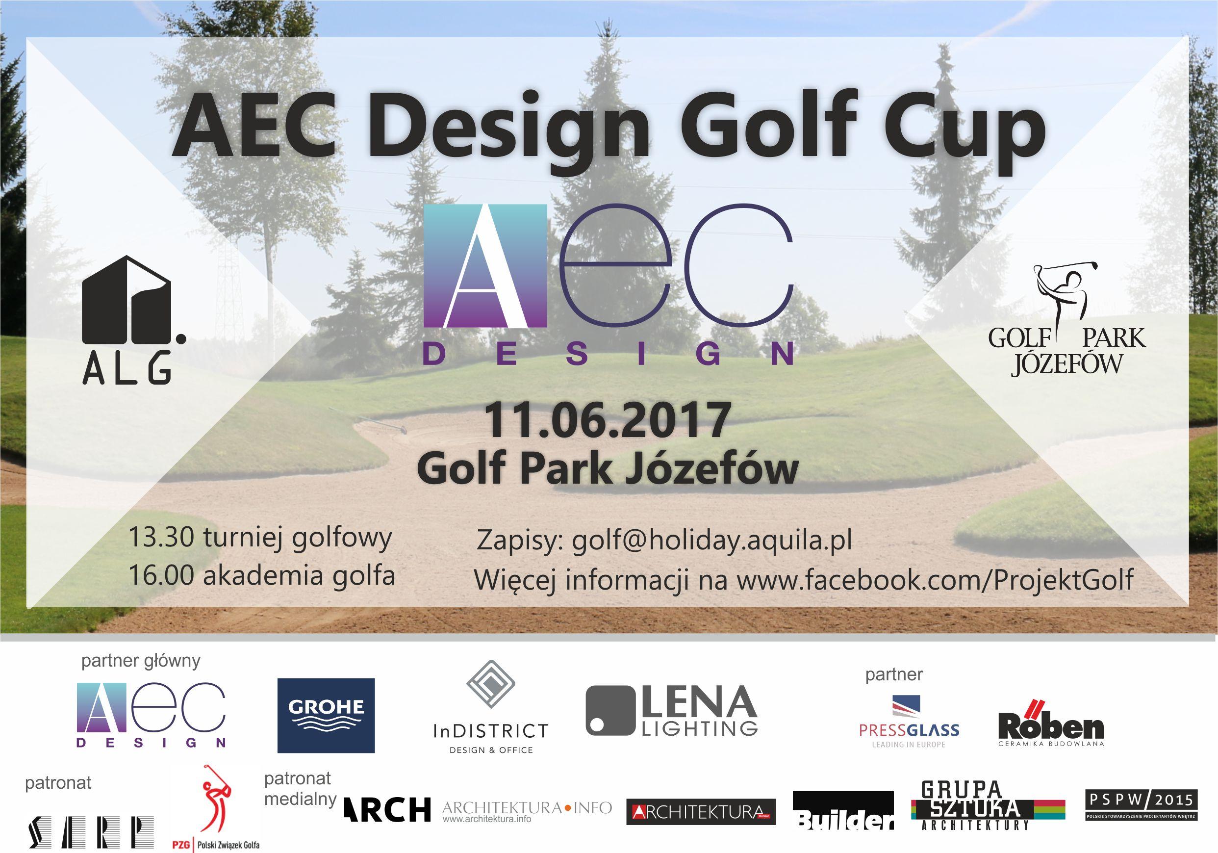 LIGA GOLFA – AEC DESIGN GOLF CUP