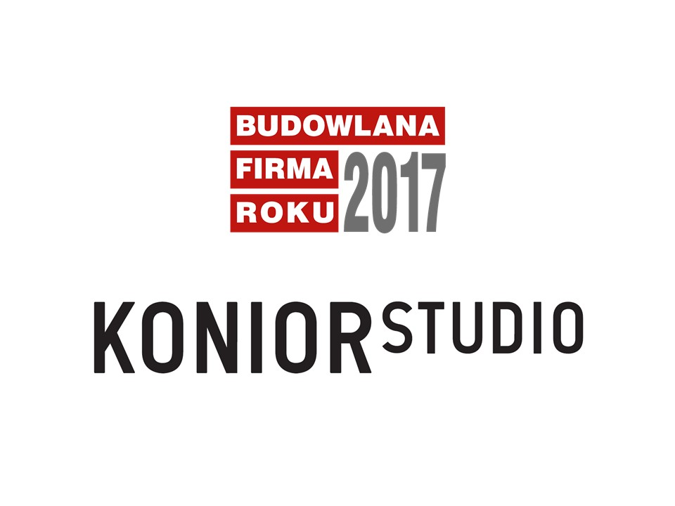 KONIOR STUDIO – BUDOWLANA FIRMA ROKU 2017