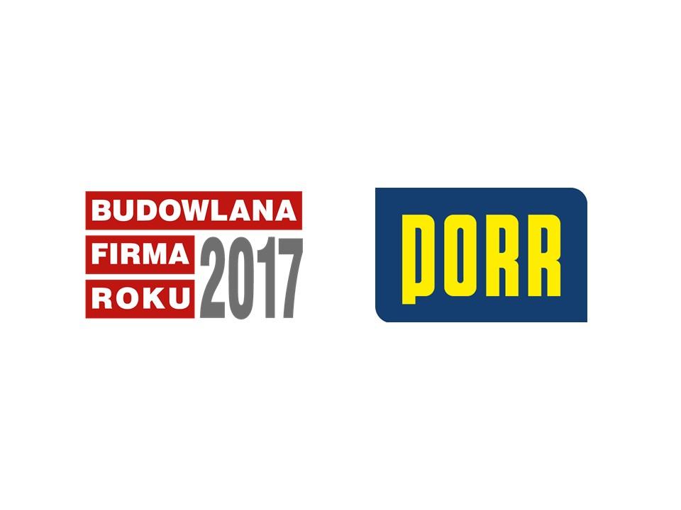 PORR S.A. – BUDOWLANA FIRMA ROKU 2017