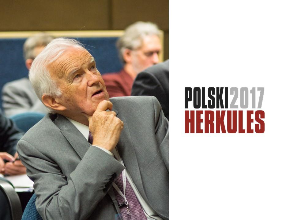 DR INŻ. STANISŁAW KARCZMARCZYK – POLSKI HERKULES 2017
