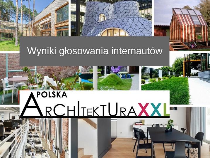 POLSKA ARCHITEKTURA XXL 2017 – INTERNAUCI WYBRALI