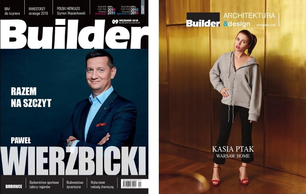 BUILDER – WRZESIEŃ 2018