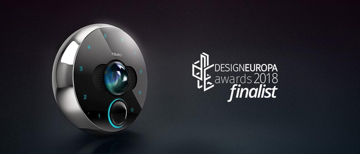 FIBARO INTERCOM WŚRÓD FINALISTÓW DESIGNEUROPA EWARDS 2018