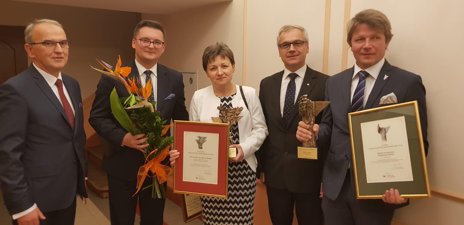 ŚLĄSKA WIELKA NAGRODA BUDOWNICTWA 2018 DLA WYDZIAŁU ARCHITEKTURY POLITECHNIKI ŚLĄSKIEJ!