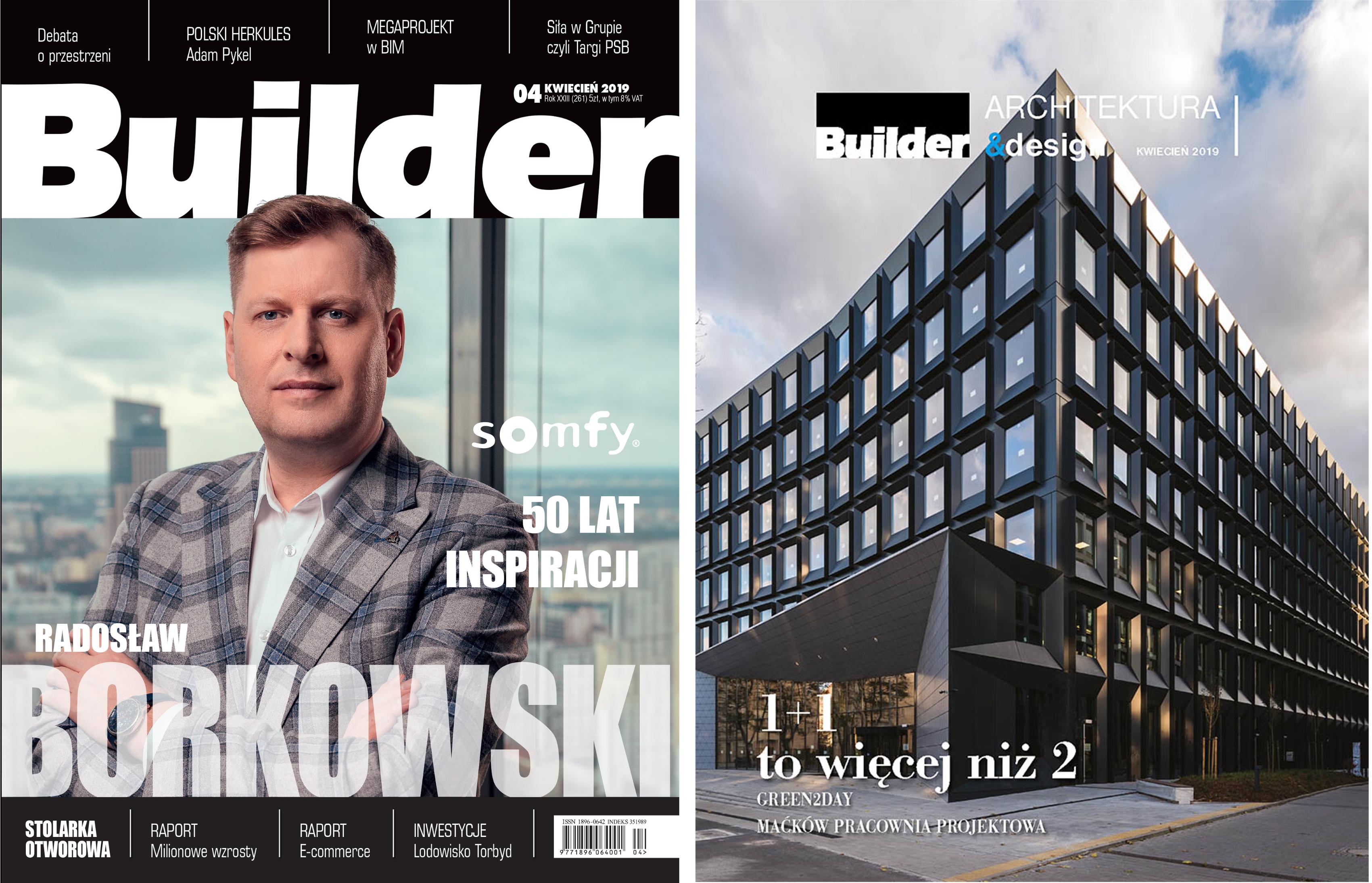 BUILDER – KWIECIEŃ 2019
