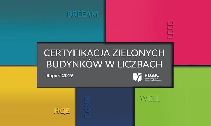 RAPORT PLGBC CERTYFIKACJA ZIELONYCH BUDYNKÓW W LICZBACH 2019