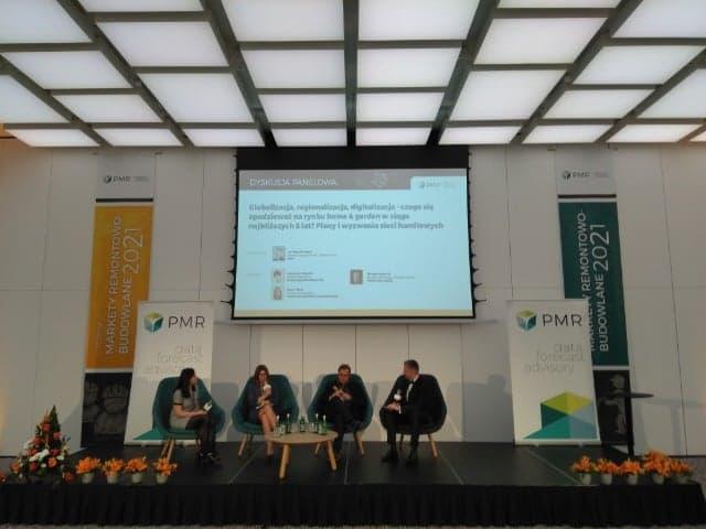 II Forum Markety Remonotowo-Budowlane 2021, organizowane przez PMR.