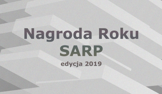 NAGRODA ROKU SARP – 24 MAJA 2019