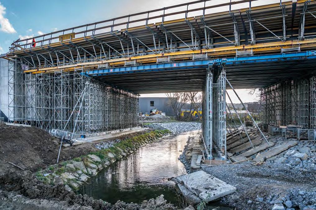 DESKOWANIA HÜNNEBECK na obiektach infrastrukturalnych