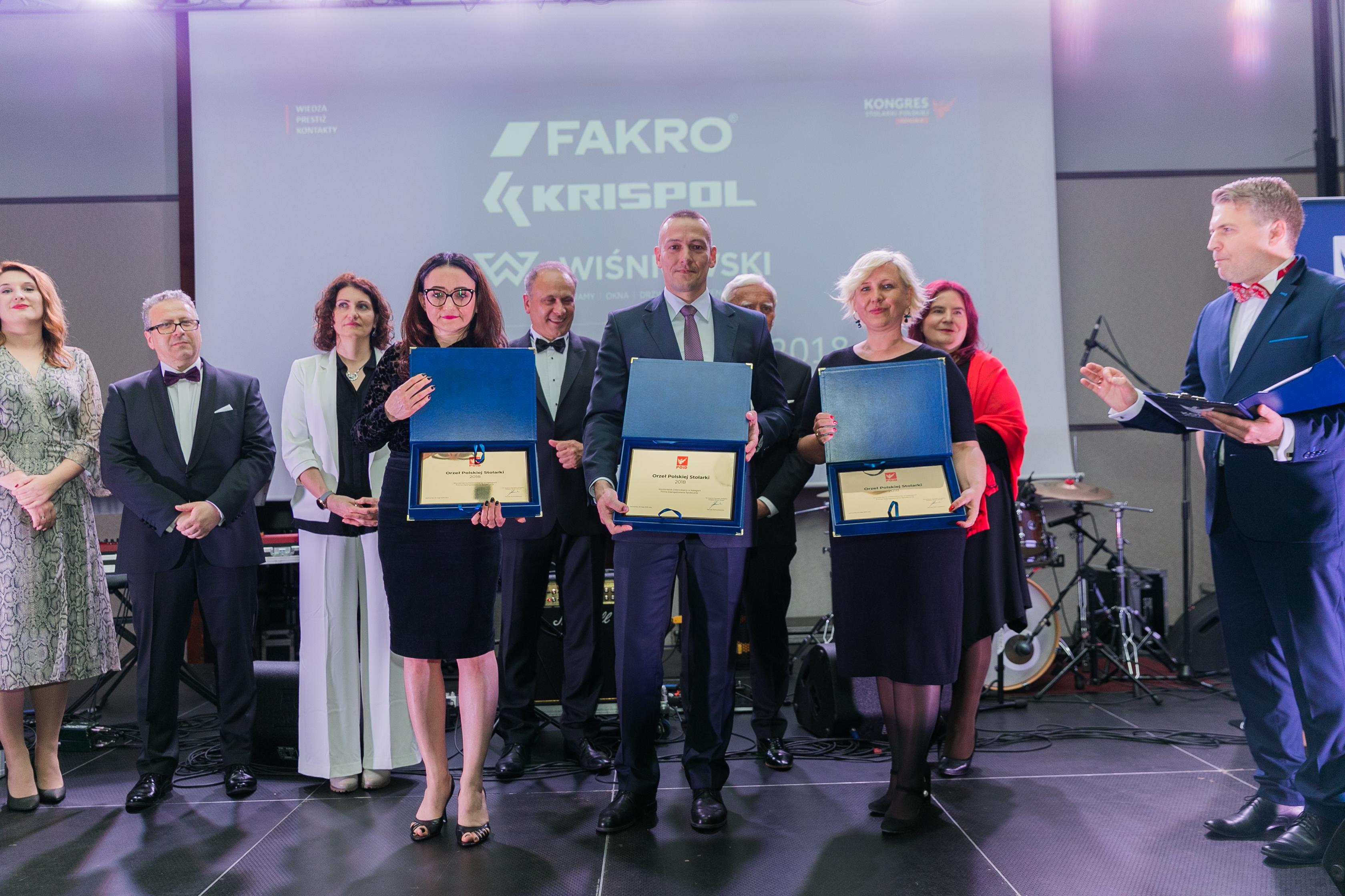 Firma KRISPOL doceniona za zaangażowanie społeczne