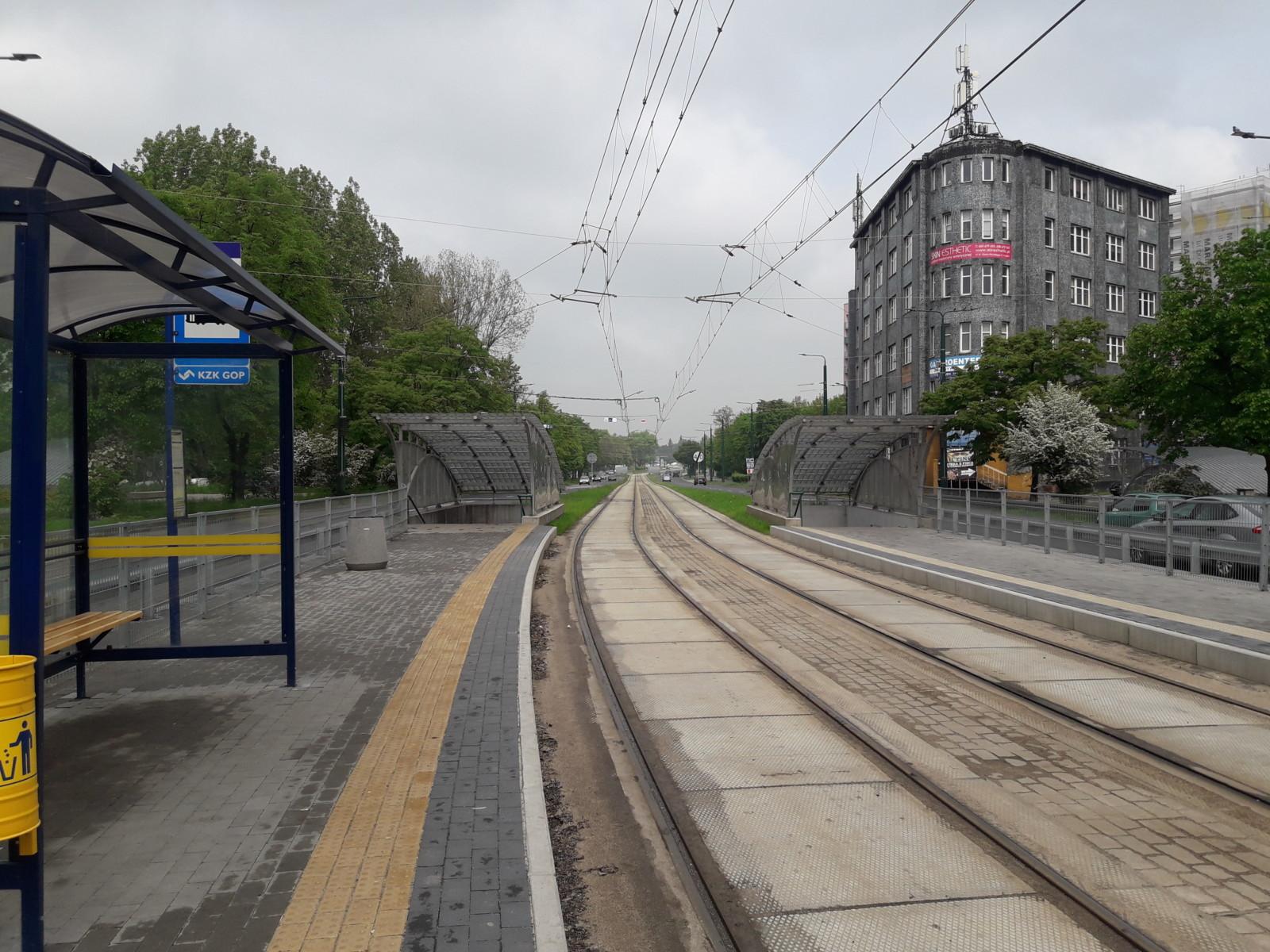 2568 metrów torów zmodernizowanych w Sosnowcu