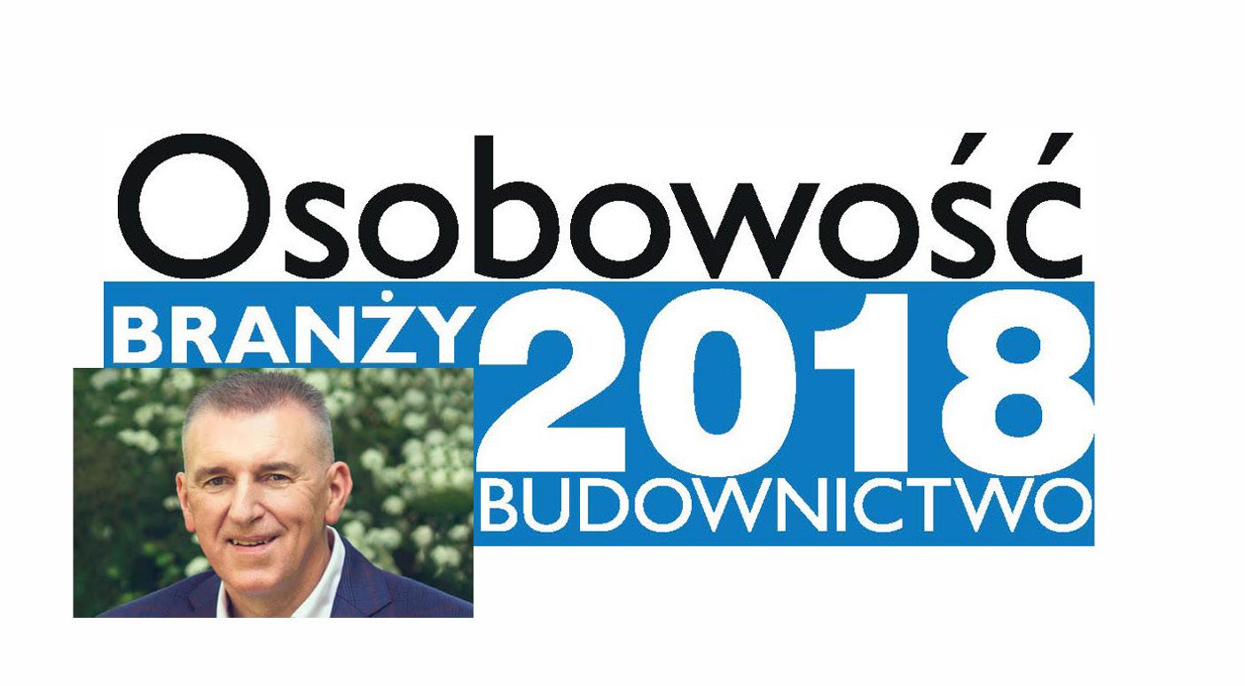 OSOBOWOŚĆ BRANŻY 2018 – WOJCIECH KLIMAS PREZES ZARZĄDU, KLIMAS SP. Z.O.O.