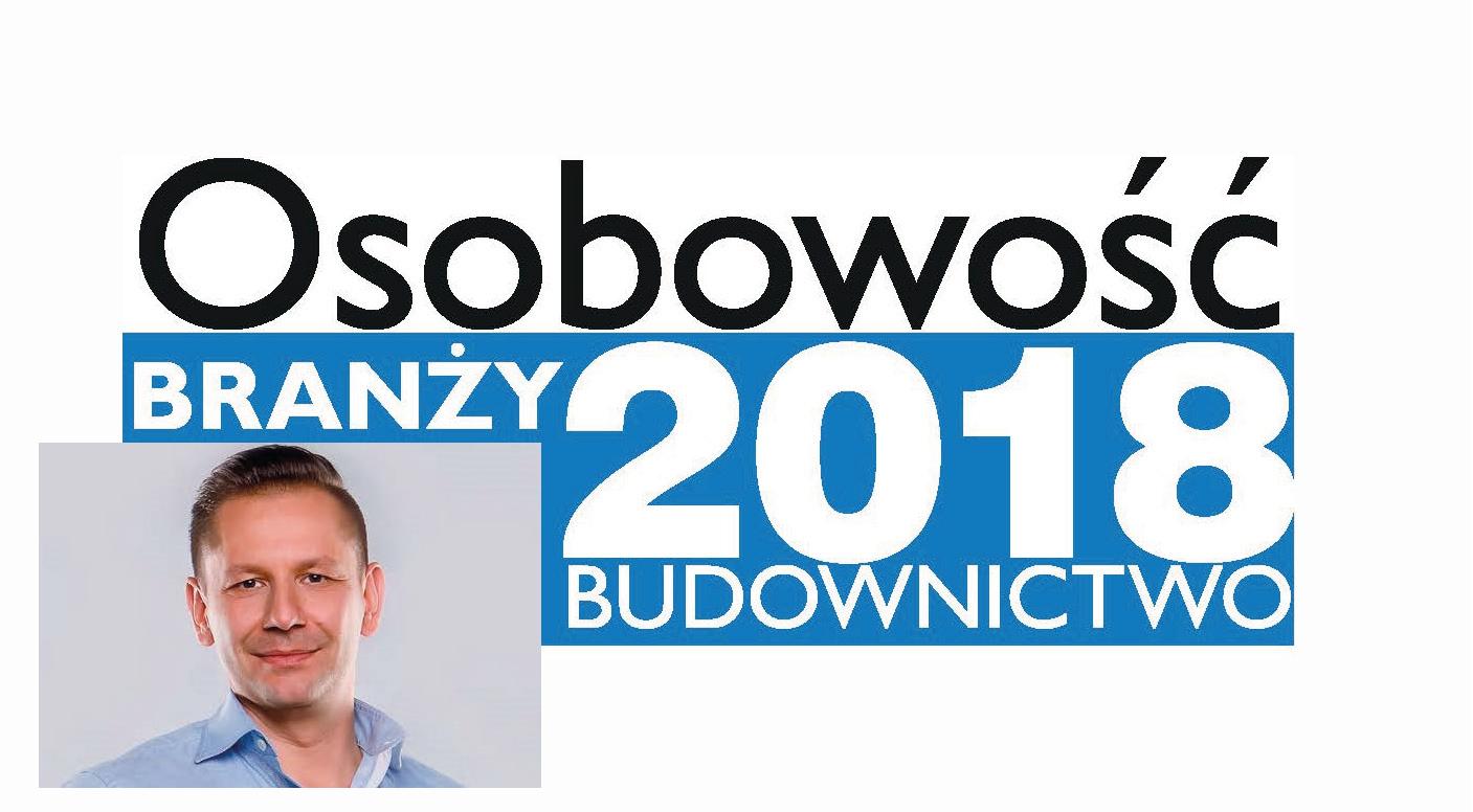 OSOBOWOŚĆ BRANŻY 2018 – DAWID KOZYRA PREZES ZARZĄDU, CENTROCLIMA SP. Z O.O.