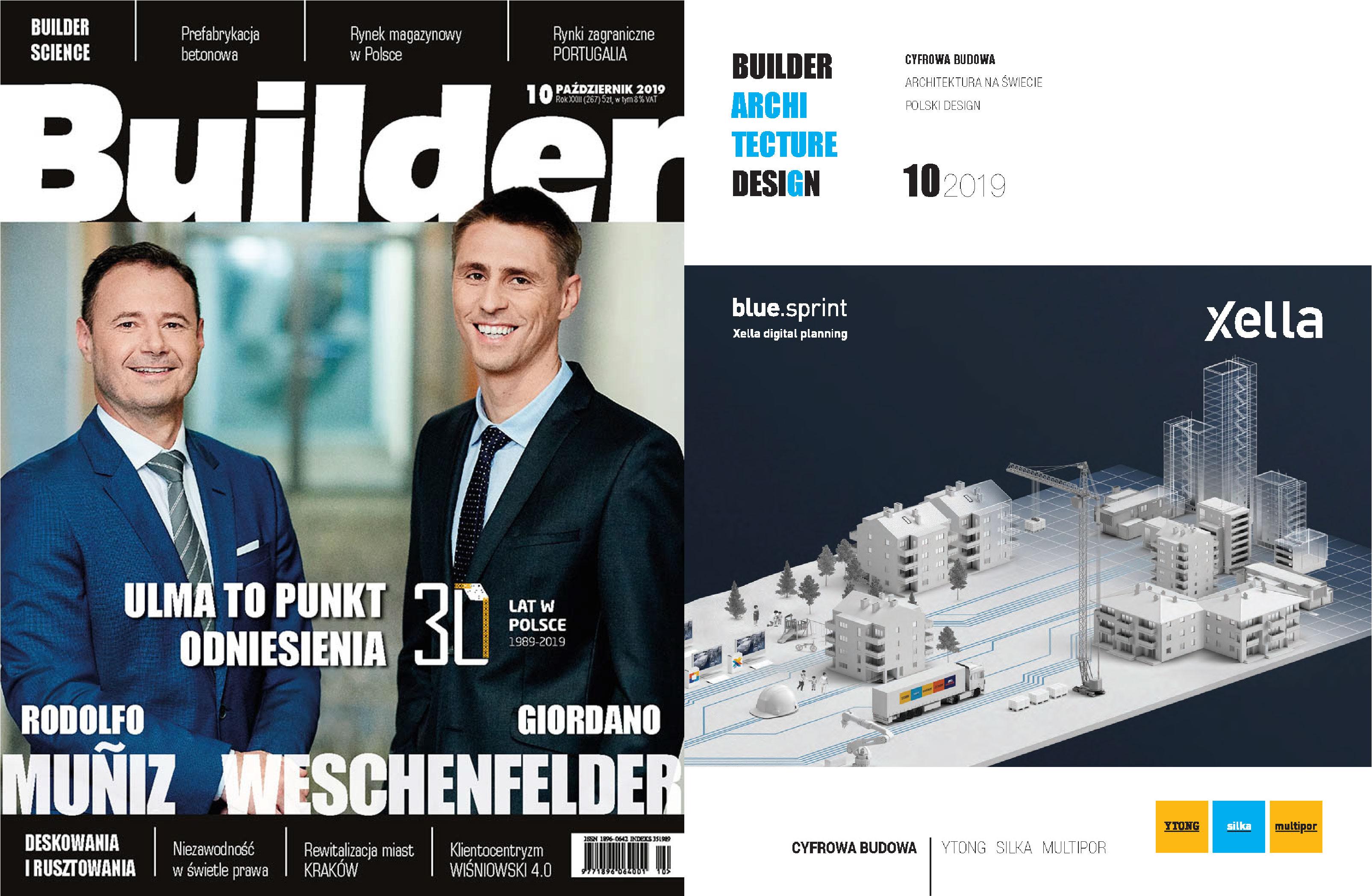 BUILDER – PAŹDZIERNIK 2019
