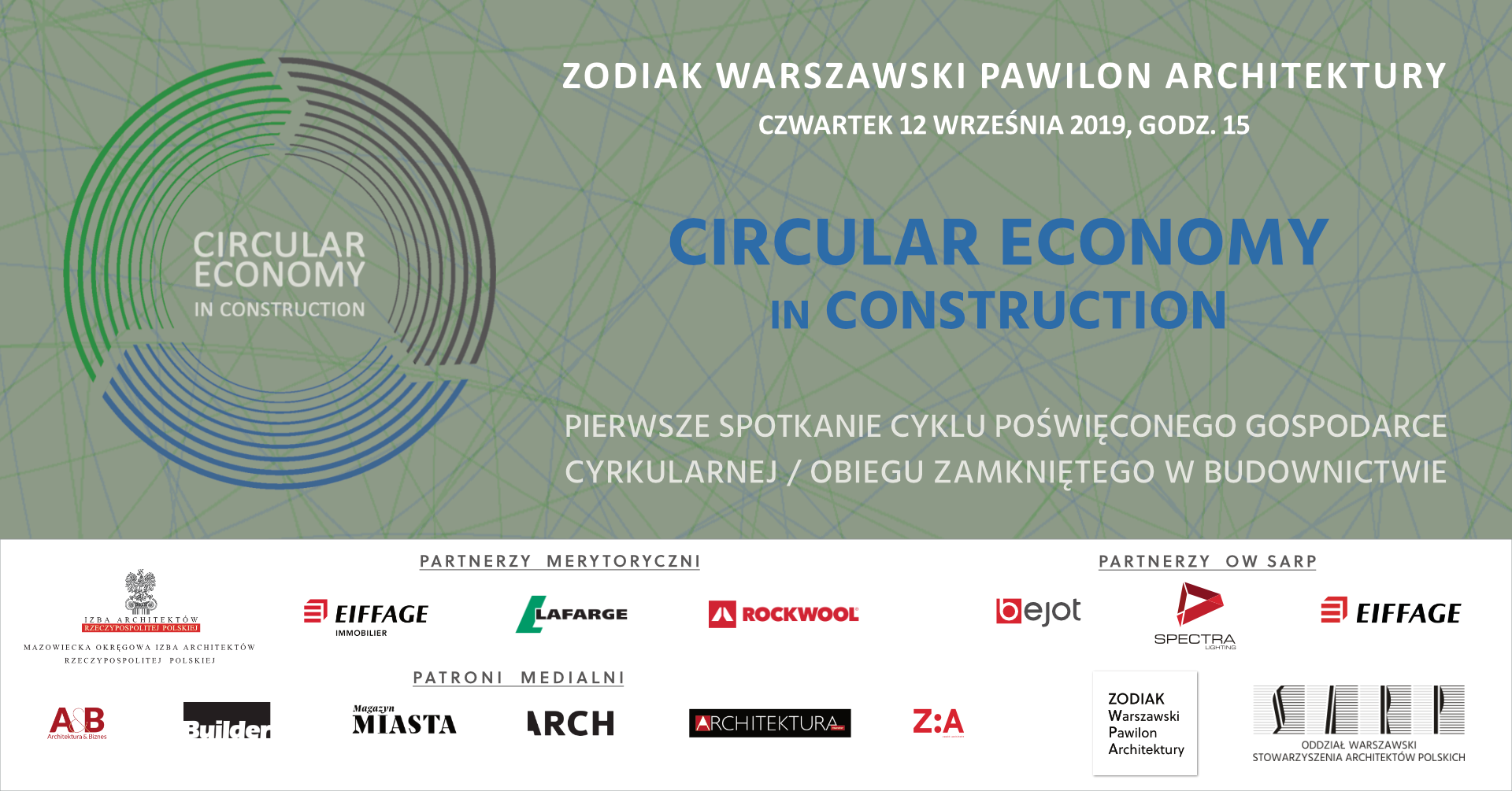 CIRCULAR ECONOMY IN CONSTRUCTION