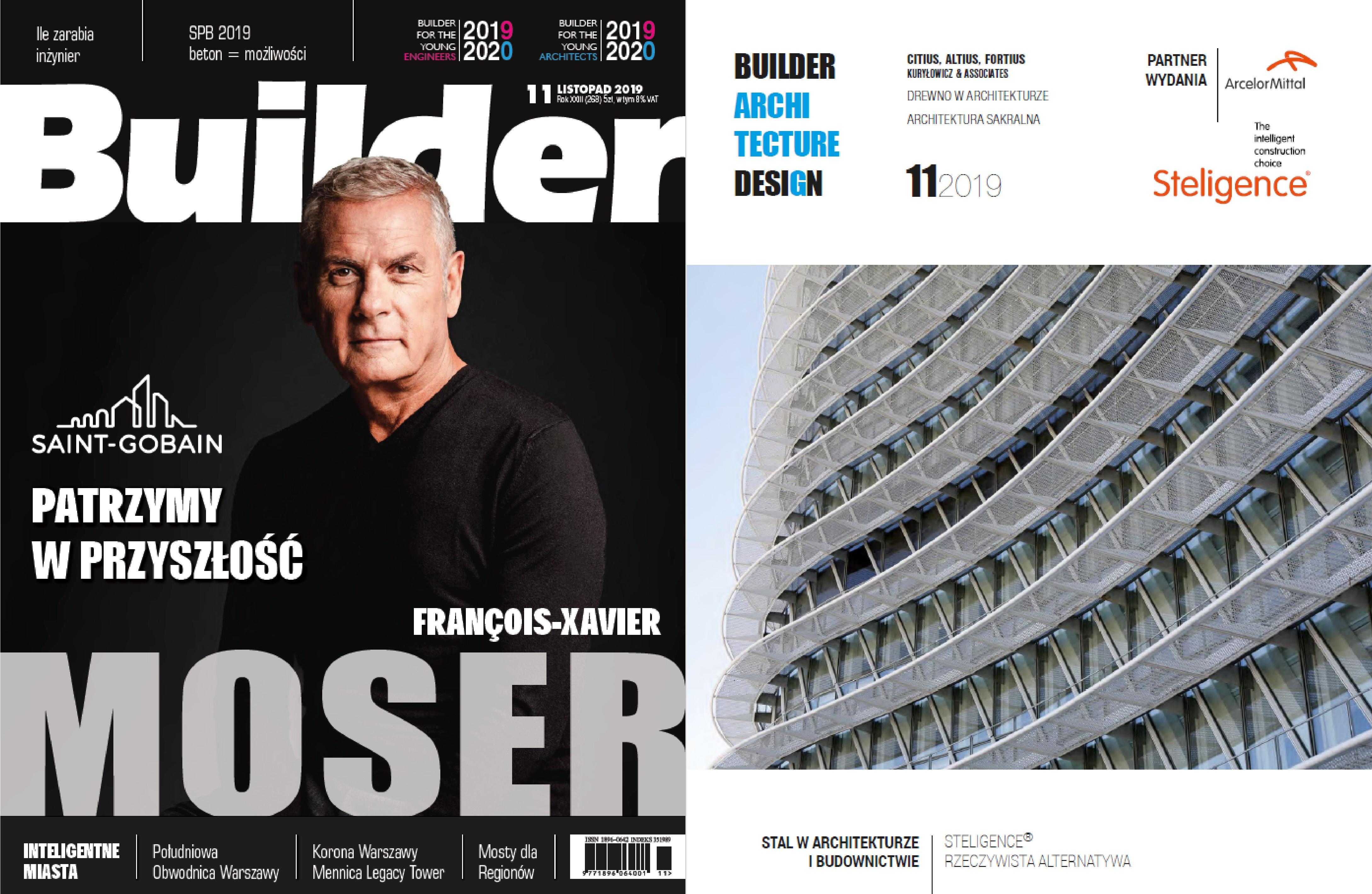 BUILDER – LISTOPAD 2019