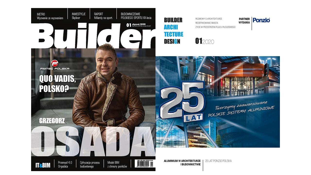 BUILDER – STYCZEŃ 2020
