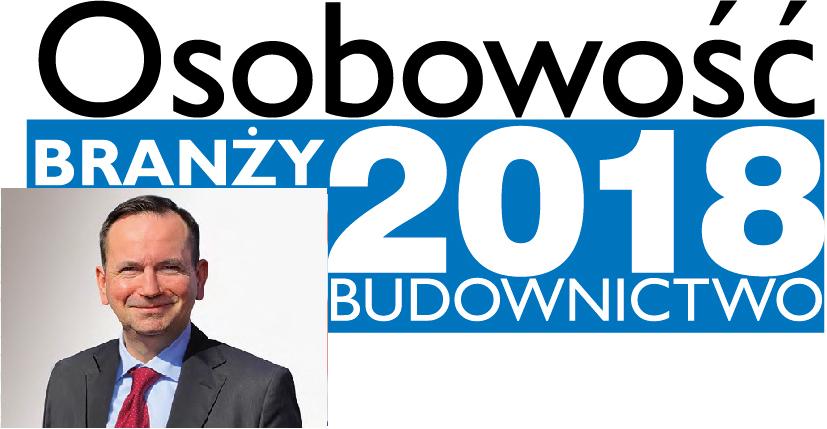 OSOBOWOŚĆ BRANŻY 2018 – ANDRZEJ KACZOR DYREKTOR ZARZĄDZAJĄCY, SOUDAL SP. Z O.O.