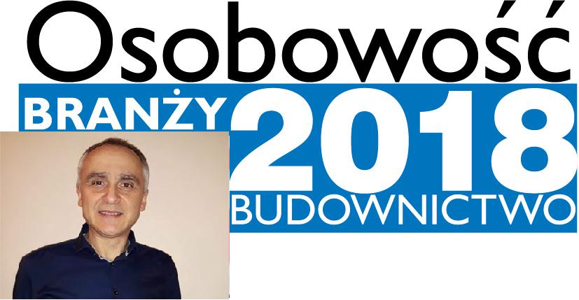 OSOBOWOŚĆ BRANŻY 2018 – PIOTR OLGIERD KORYCKI PEŁNOMOCNIK ZARZĄDU DS. WDROŻEŃ, PRUSZYŃSKI SP. Z O.O.