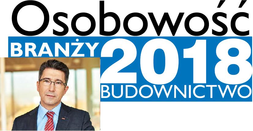 OSOBOWOŚĆ BRANŻY 2018 – JACEK SIWIŃSKI PREZES ZARZĄDU, VELUX POLSKA SP. Z O.O.