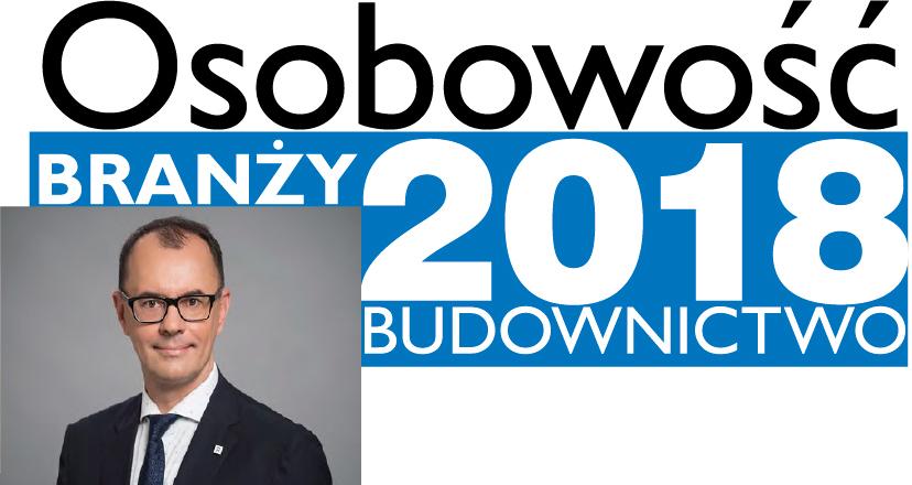 OSOBOWOŚĆ BRANŻY 2018 – ANDREY KLYMENKO DYREKTOR GENERALNY RCE, REYNAERS ALUMINIUM SP. Z O.O.