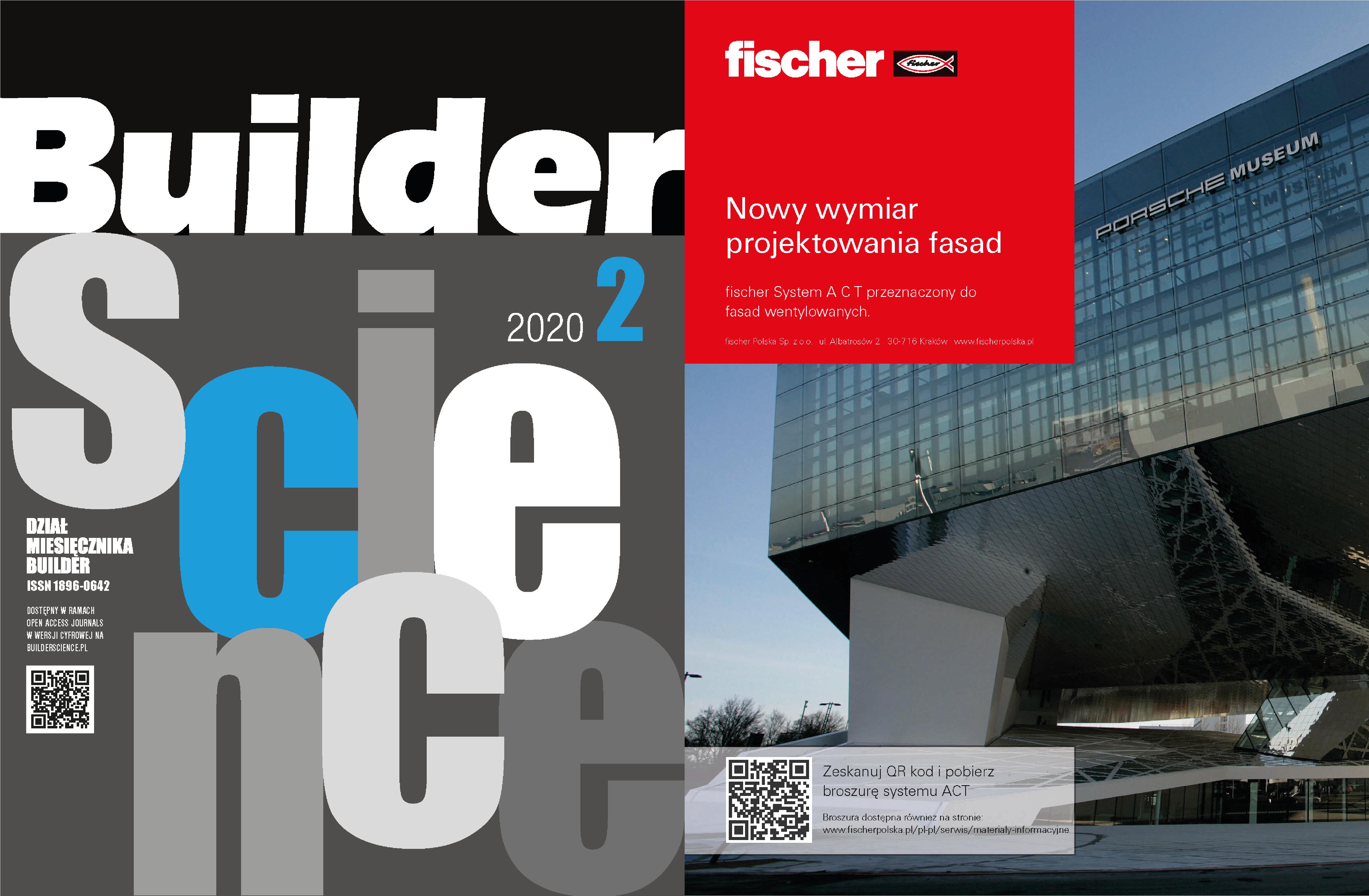 FISCHER POLSKA – PARTNER 2 WYDANIA BUILDER SCIENCE 02/2020