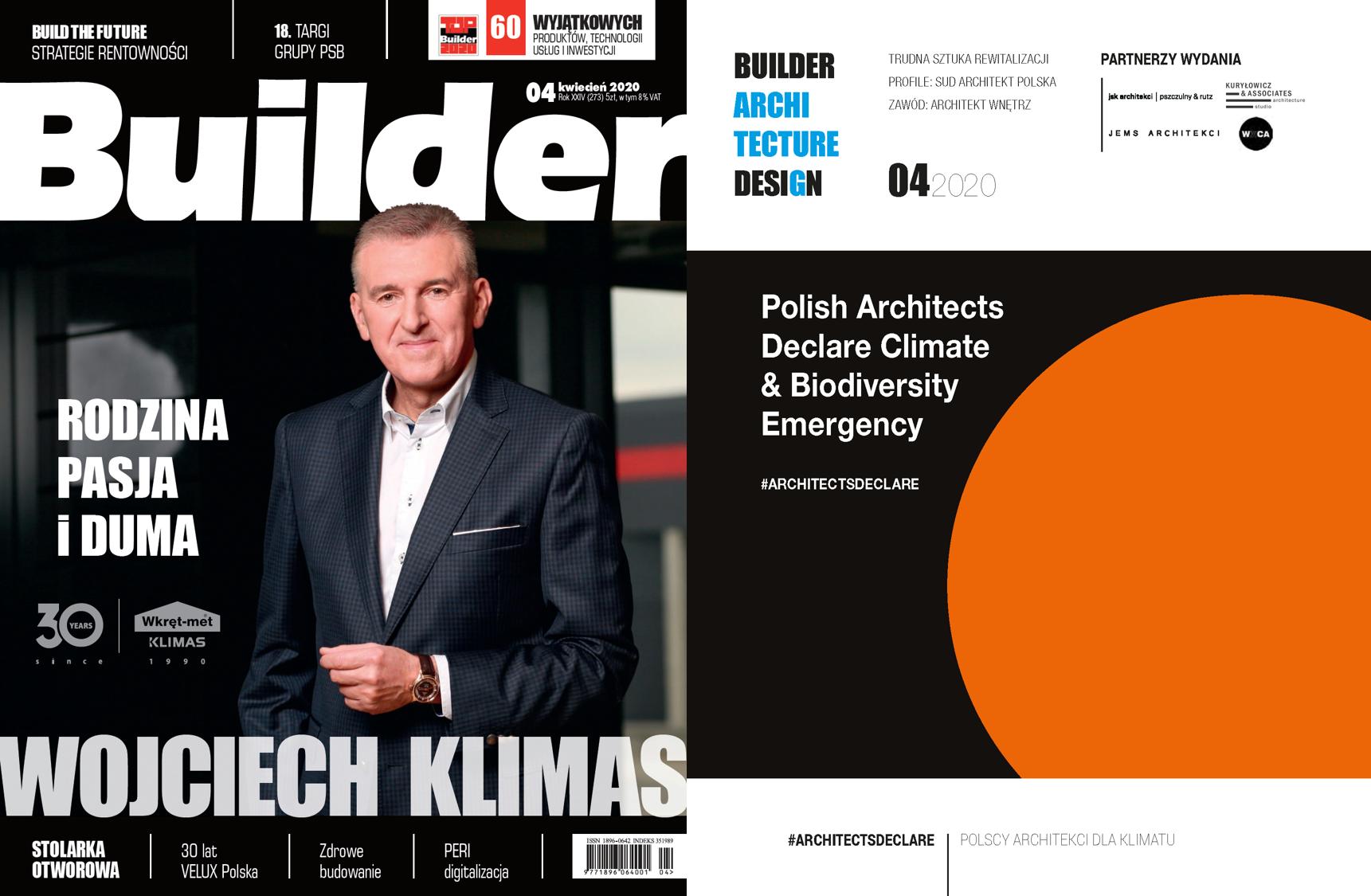 BUILDER – KWIECIEŃ 2020