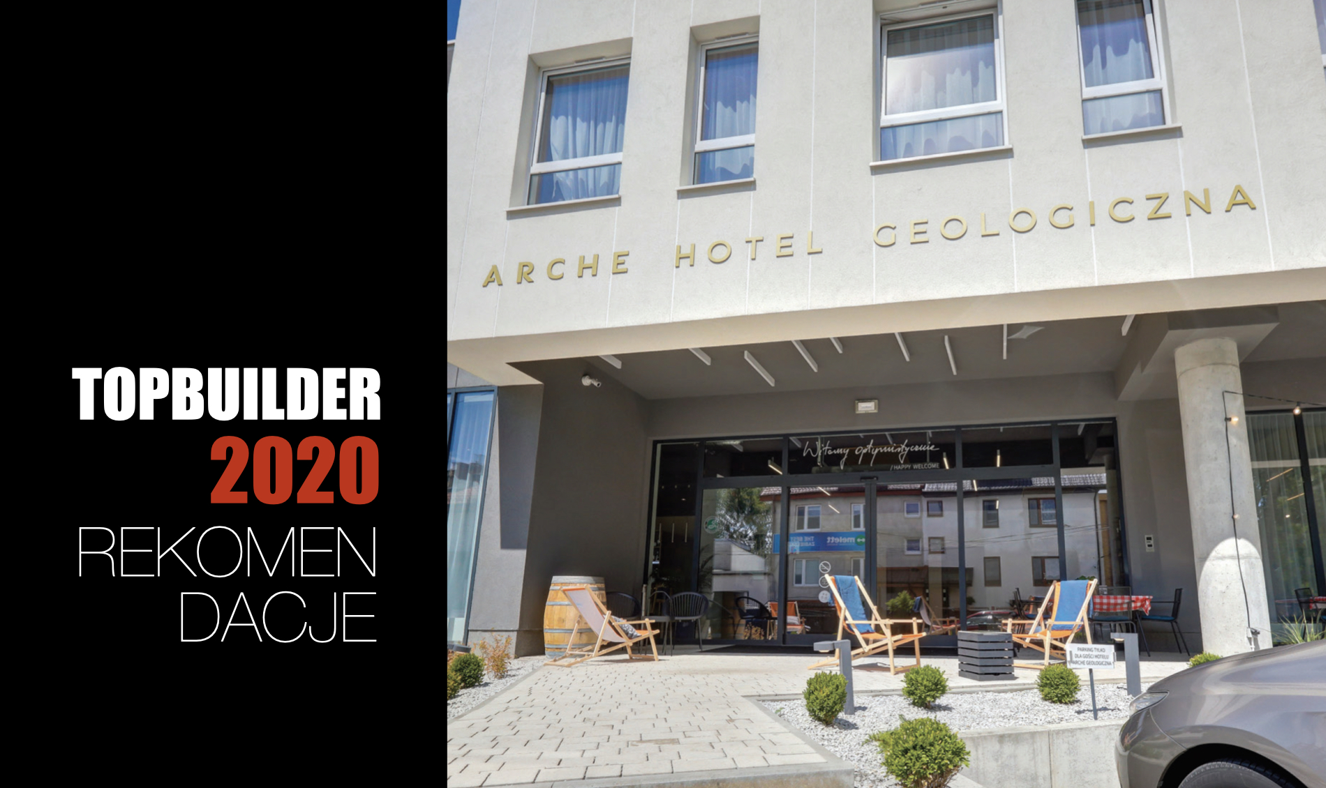 ARCHE HOTEL GEOLOGICZNA W WARSZAWIE